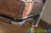 Grundgerüst aus Edelstahl aus einem Stück
